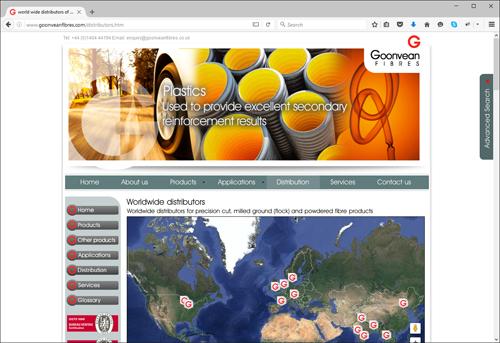 worldwide distribution network
