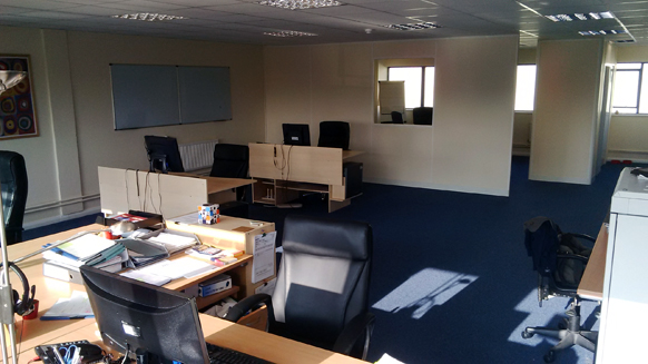 development studio in new offices in wiltshire