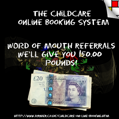we are giving away one hundred and fifty pounds for referrals that lead to a sale