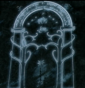 Door to Moria (Lord of the Rings)