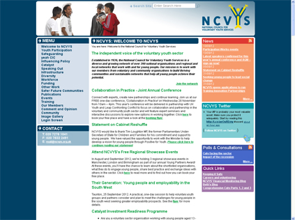 NCVYS website