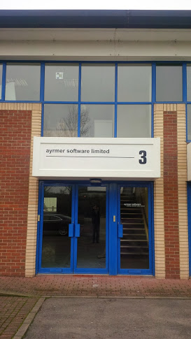 New signage at the offices in Wiltshire